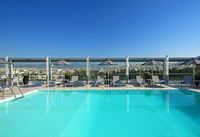 Radisson Blu Park Hotel, Athens, Aten, Utomhuspool