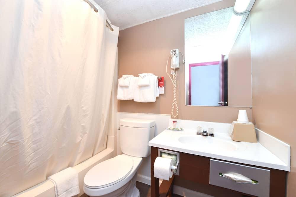 ルーム キングベッド 1 台 喫煙可 - バスルーム