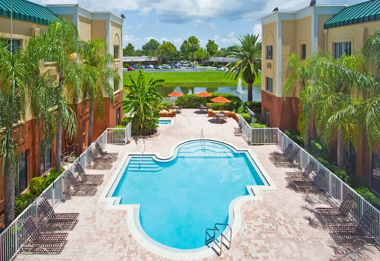 Holiday Inn Express Clearwater East - Icot Center, Clearwater, Piscina
