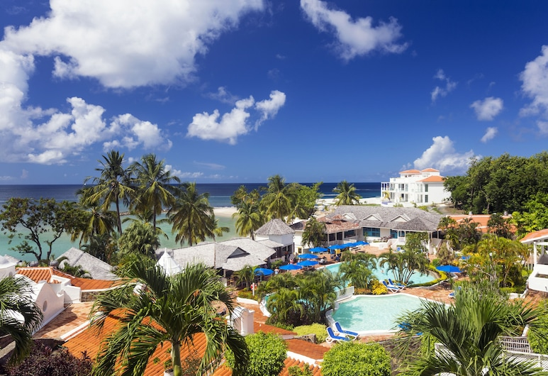 Windjammer Landing Villa Beach Resort, Gros Islet, Piscina