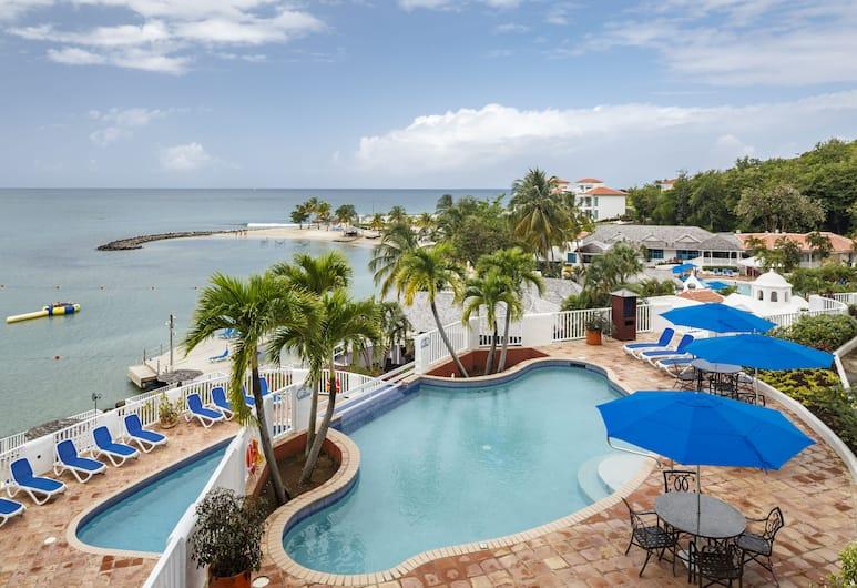 Windjammer Landing Villa Beach Resort, Gros Islet, Outdoor Pool