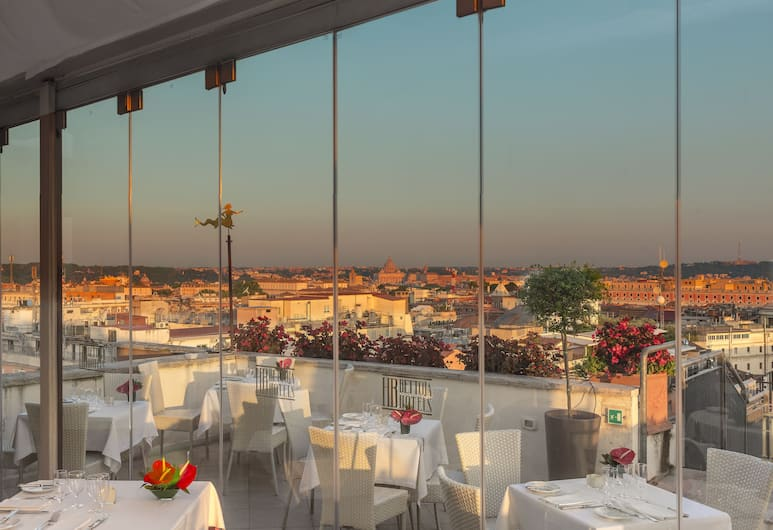 Bettoja Atlantico Hotel, Rom, Spisning