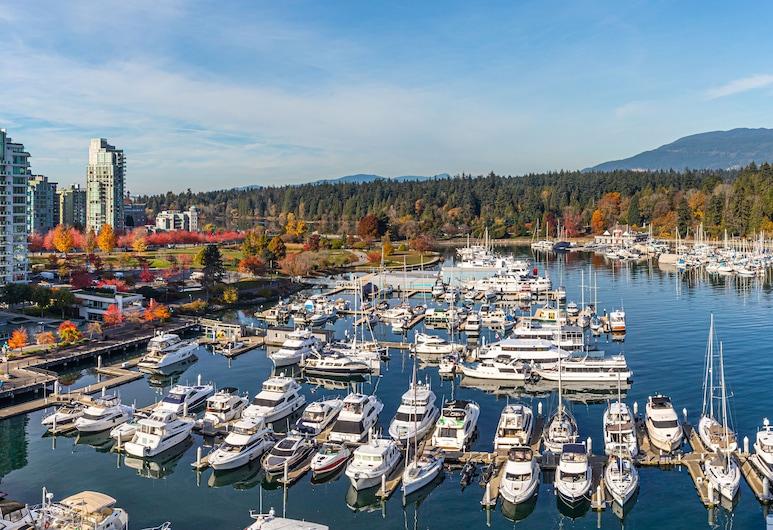 The Westin Bayshore, Vancouver, Vancouver, Suíte, 1 quarto, Varanda coberta, Vista, Vista (do quarto)
