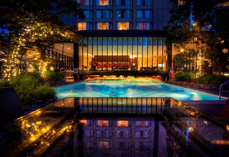 Four Seasons Hotel Vancouver, Vancouver, Terraço/pátio