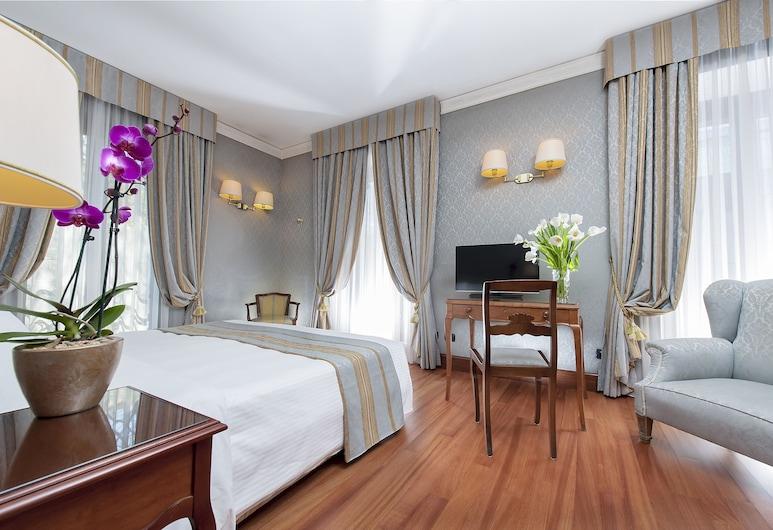 Ambasciatori Palace, Rim, Classic dvokrevetna soba za jednu osobu, Soba za goste