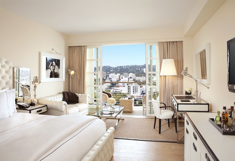 Mr. C Beverly Hills, Los Angeles, Premium Room, 2 Double Beds, Balcony, Guest Room