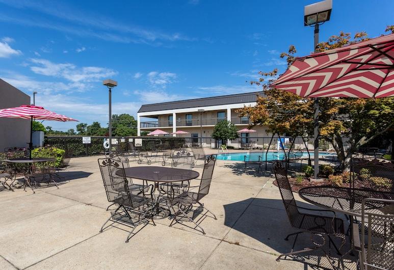 Quality Inn Union City US 51, Union City, Terrasse/Patio