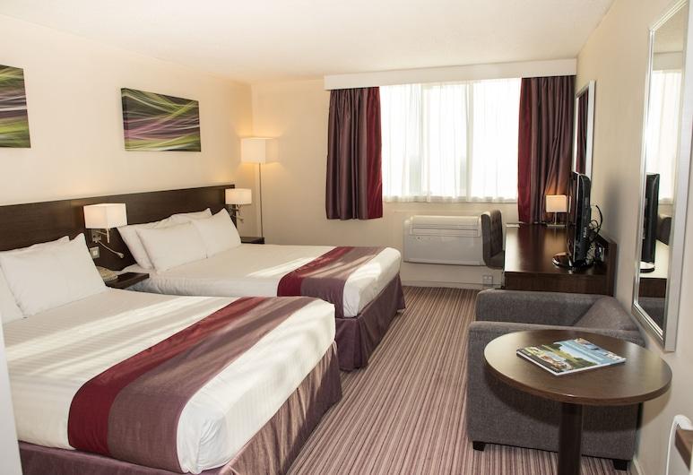 Holiday Inn Slough - Windsor, Slough, חדר, 2 מיטות קווין, ללא עישון, חדר אורחים