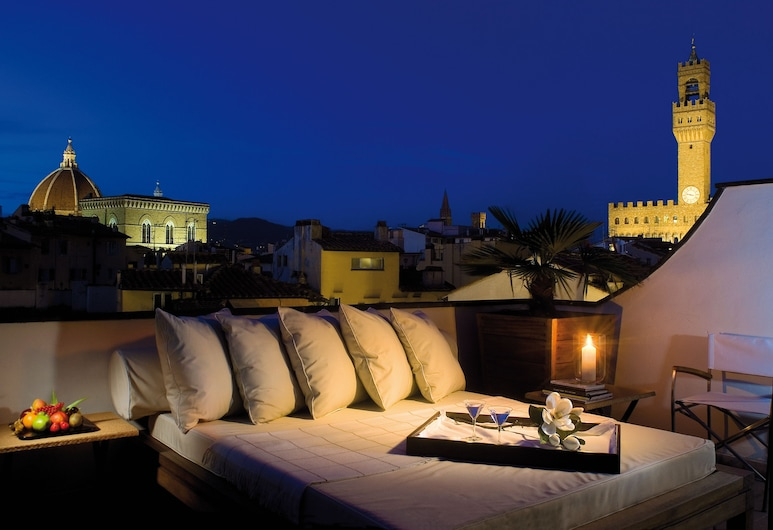 Gallery Hotel Art - Lungarno Collection, Florence, Penthouse (Suite), Terrace/Patio