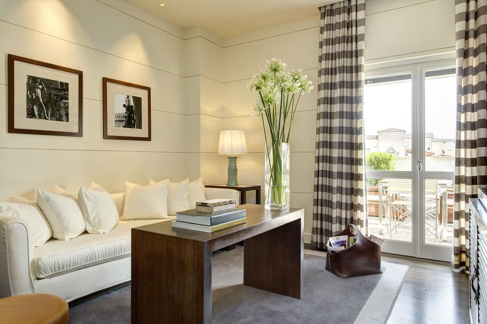 Penthouse (Suite) - Woonkamer