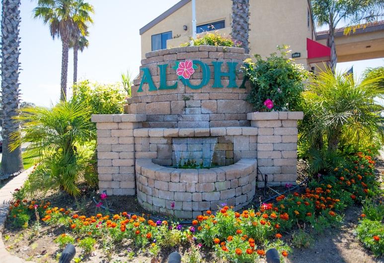 Aloha Inn, Arroyo Grande, Entrada do Hotel