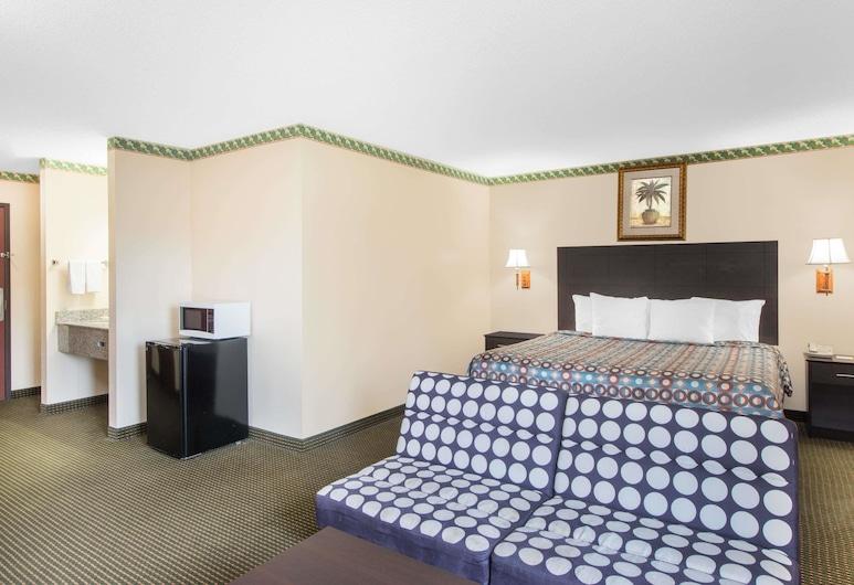 Days Inn by Wyndham Sullivan, סאליבן, חדר סטנדרט, מיטת קינג, חדר אורחים