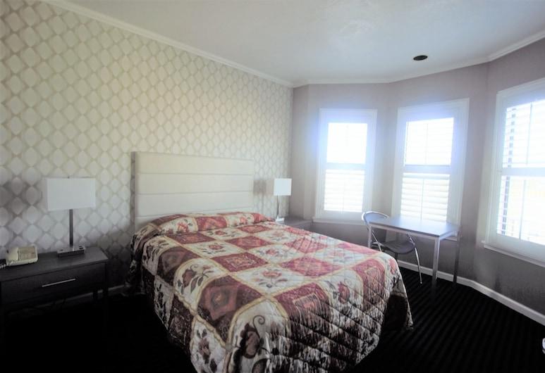 Alpha Inn & Suites, San Francisco, Standard Room, 1 Queen Bed, Guest Room