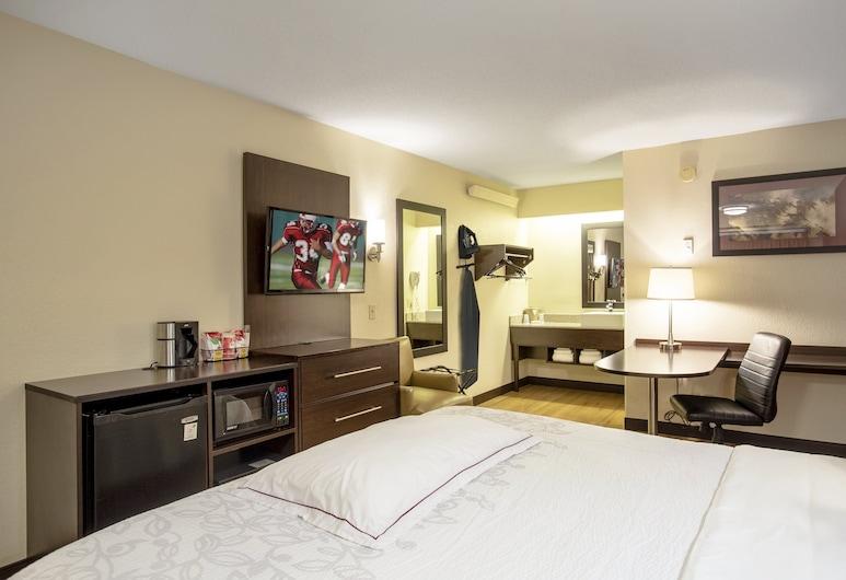 Red Roof Inn PLUS+ Baltimore - Washington DC/ BWI Airport, Linthicum Heights, Kamar Premium, 1 Tempat Tidur King, akses difabel (Upgraded Bedding & Snack, Smoke Free), Kamar Tamu