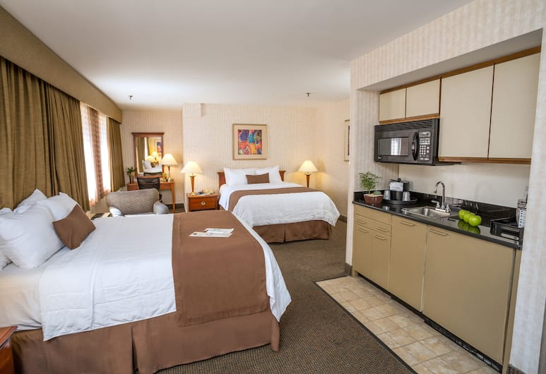 The Inn at Longwood Medical, Boston, Studio Suite, Refrigerator & Microwave, In-Room Kitchenette