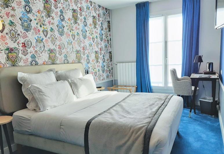 Hôtel Edouard 6, Paris, Classic Double Room Courtyard or Montparnasse View, Guest Room