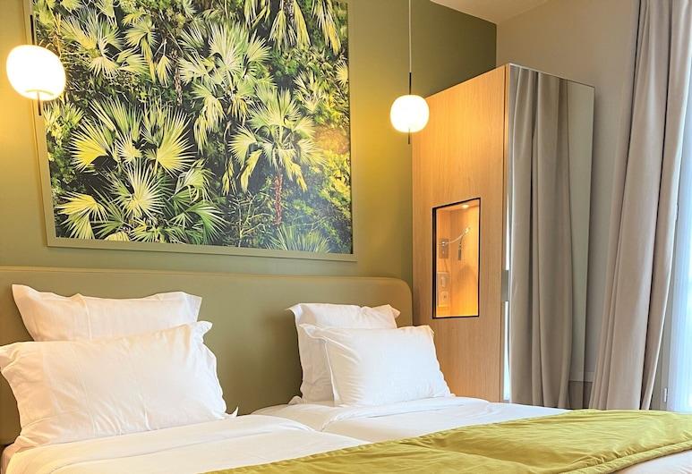 愛德華六世酒店, 巴黎, 經典雙床房, 城市景, 客房