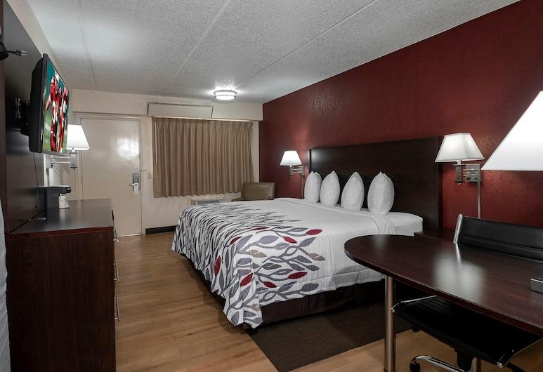 Red Roof Inn Champaign - University, Champaign, Superior Room, 1 Katil Raja (King), Non Smoking, Bilik Tamu