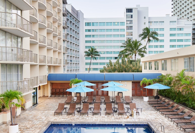 OHANA Waikiki East by Outrigger, Honolulu, Zwembad