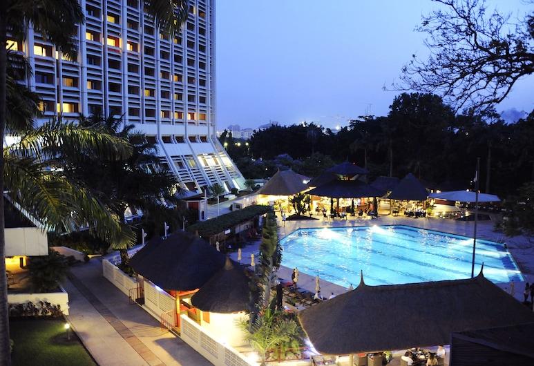 Transcorp Hilton Abuja, Abuja, Vista dall'hotel