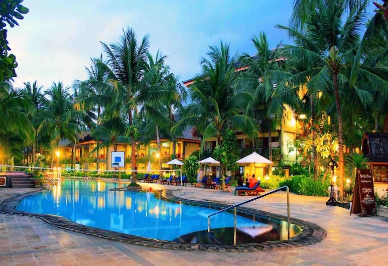 The Jayakarta Lombok Hotel & Spa, Senggigi, Vonkajší bazén