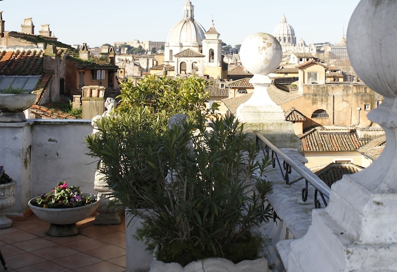 Hotel Genio, Rome, View from Hotel