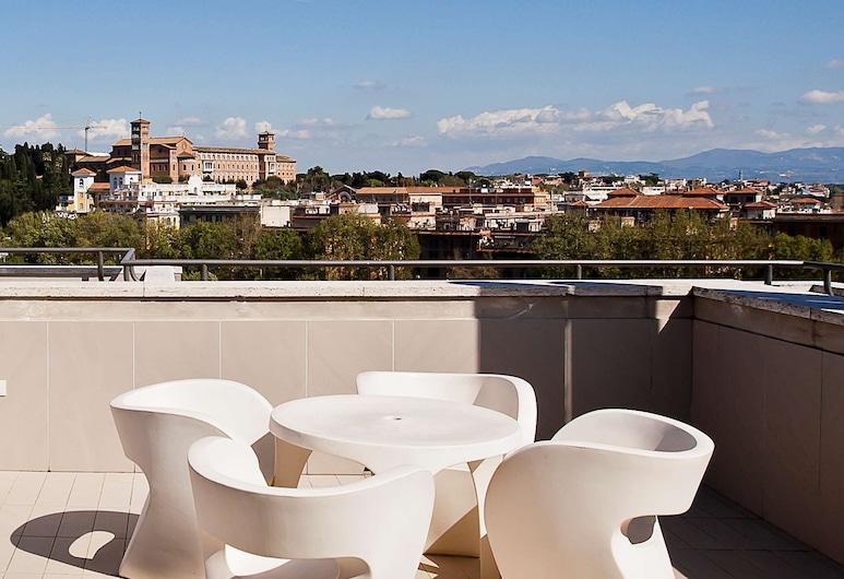 Hotel Ripa Roma, Rome, Junior Suite, Terrace, City View, Guest Room