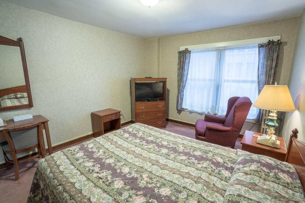 Standartinio tipo kambarys, 1 didelė dvigulė lova - Svetainės zona