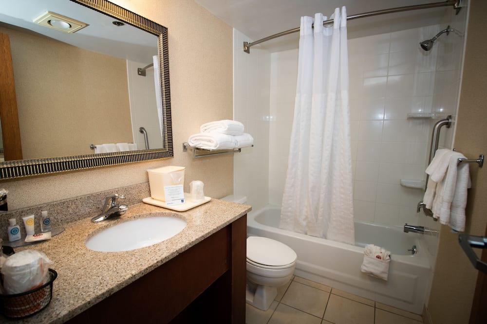 Standard-huone, 1 suuri parisänky - Kylpyhuone