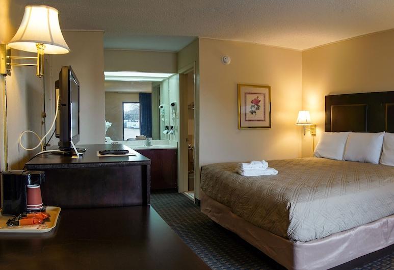 Knights Inn Victoria, Victoria, Prémium egyágyas szoba, 1 king (extra méretű) franciaágy, Vendégszoba