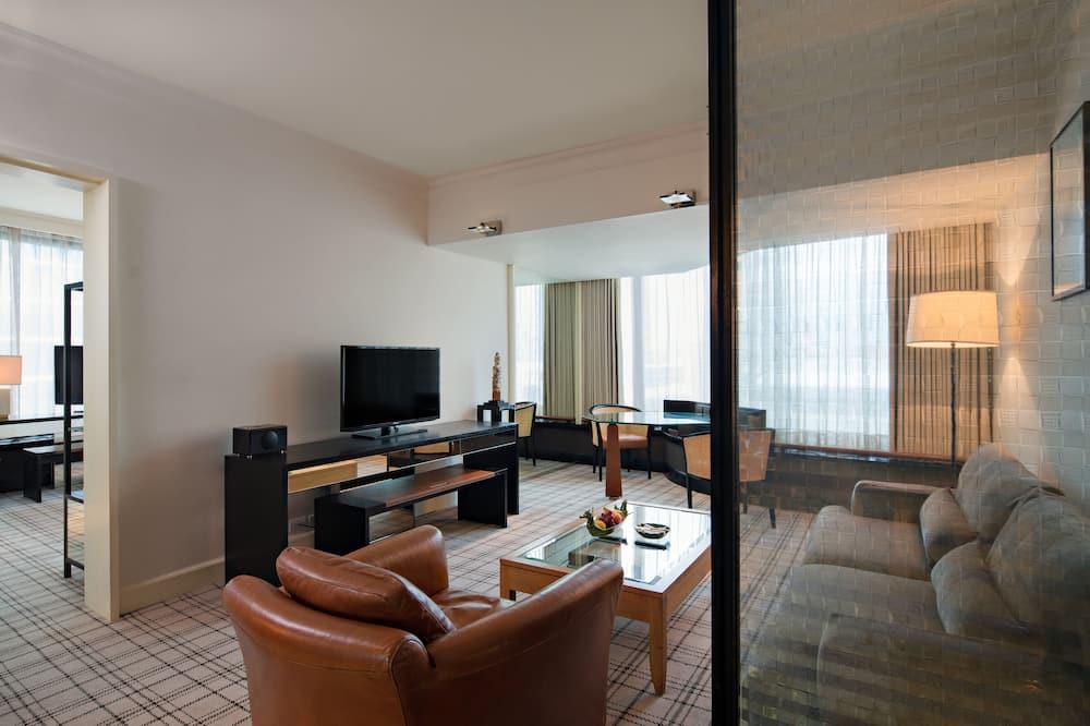 Grand, Apartmá, dvojlůžko (200 cm) - Obývací pokoj