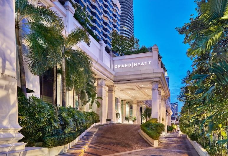 Grand Hyatt Erawan Bangkok, Bankokas, Viešbučio teritorija