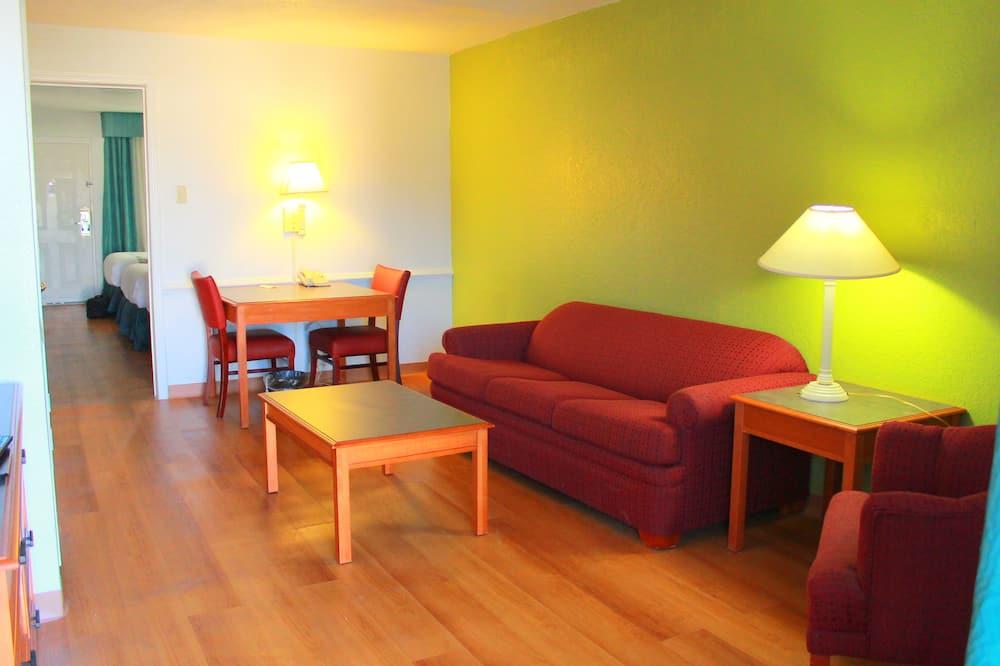 標準客房, 非吸煙房, 冰箱和微波爐 - 客廳