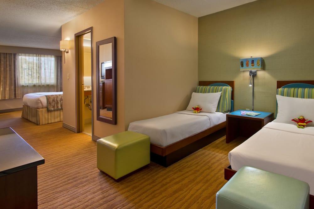 Phòng, 2 giường đôi (with 2 Toddler Beds) - Phòng chủ đề trẻ em