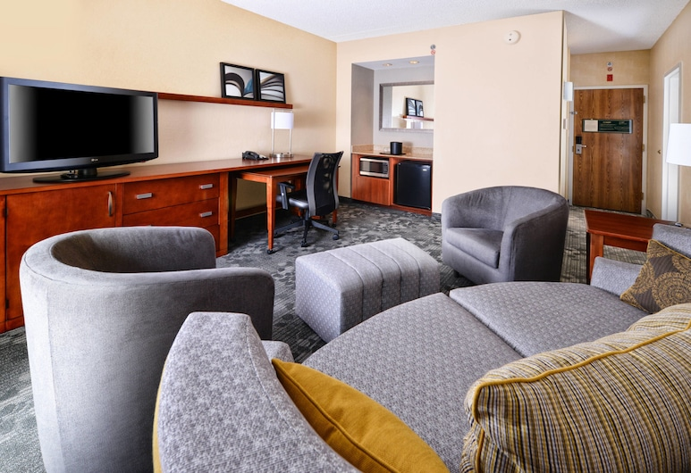 Courtyard by Marriott Dallas Richardson at Spring Valley, Richardson, Room, 1 King Bed, Non Smoking, Guest Room