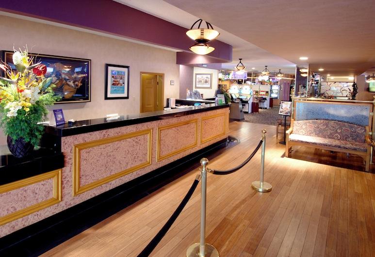 Mardi Gras Hotel & Casino, Las Vegas, Recepcia
