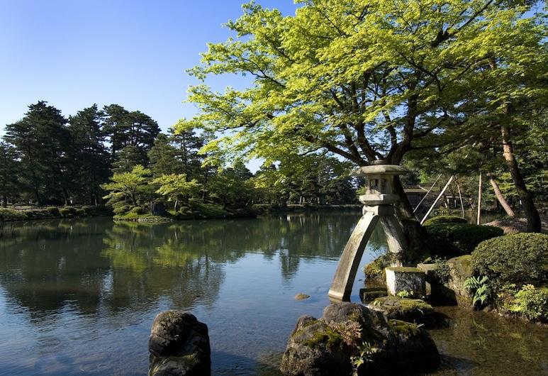 Hotel Nikko Kanazawa, קאנאזאווה, גינה