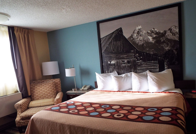 Super 8 by Wyndham Casper East/Evansville, Evansville, Room, 1 King Bed, Non Smoking, Guest Room