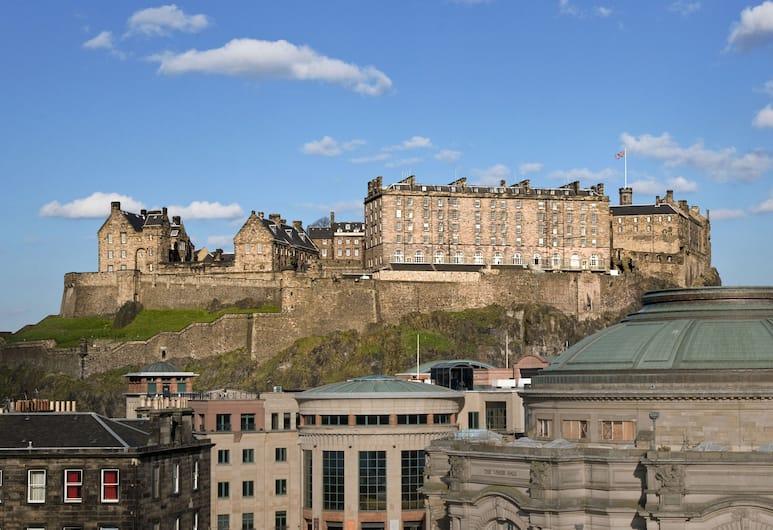 Sheraton Grand Hotel & Spa, Edinburgh, Edinburgh, Huone, 1 king size -sänky, Näköala, Näköala huoneesta