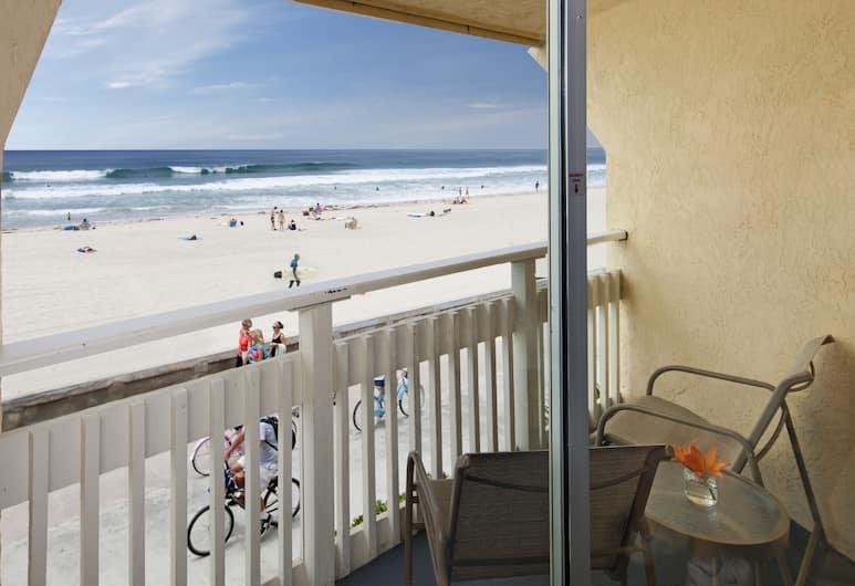 Blue Sea Beach Hotel, סן דייגו, חדר, 1 מיטת קינג, פונה לים, מרפסת