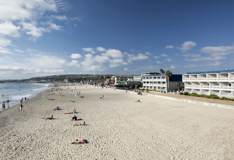 Blue Sea Beach Hotel, San Diego, Strand