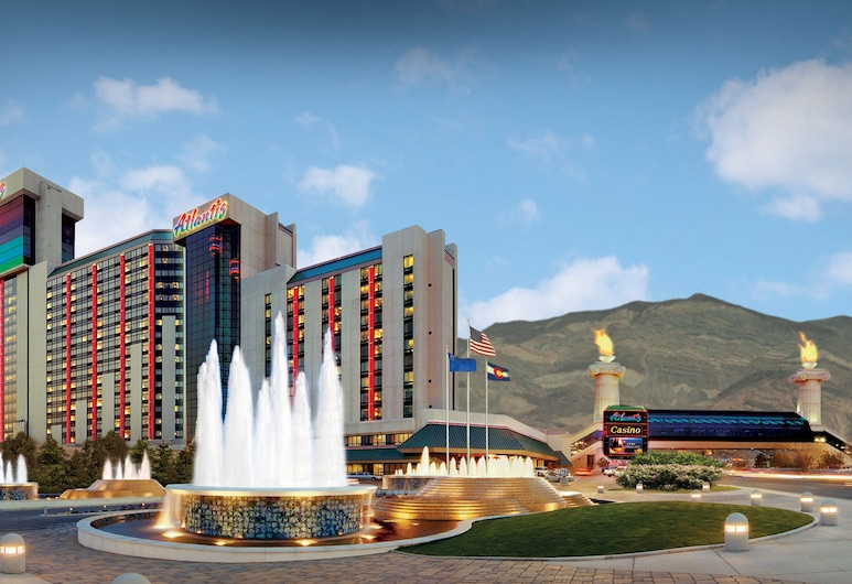 Atlantis Casino Resort Spa, Reno, Hotelfassade