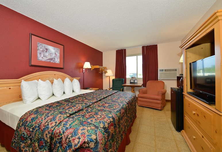 Americas Best Value Inn Decatur, IL, Decatur, Room, 1 Queen Bed, Non Smoking, Guest Room