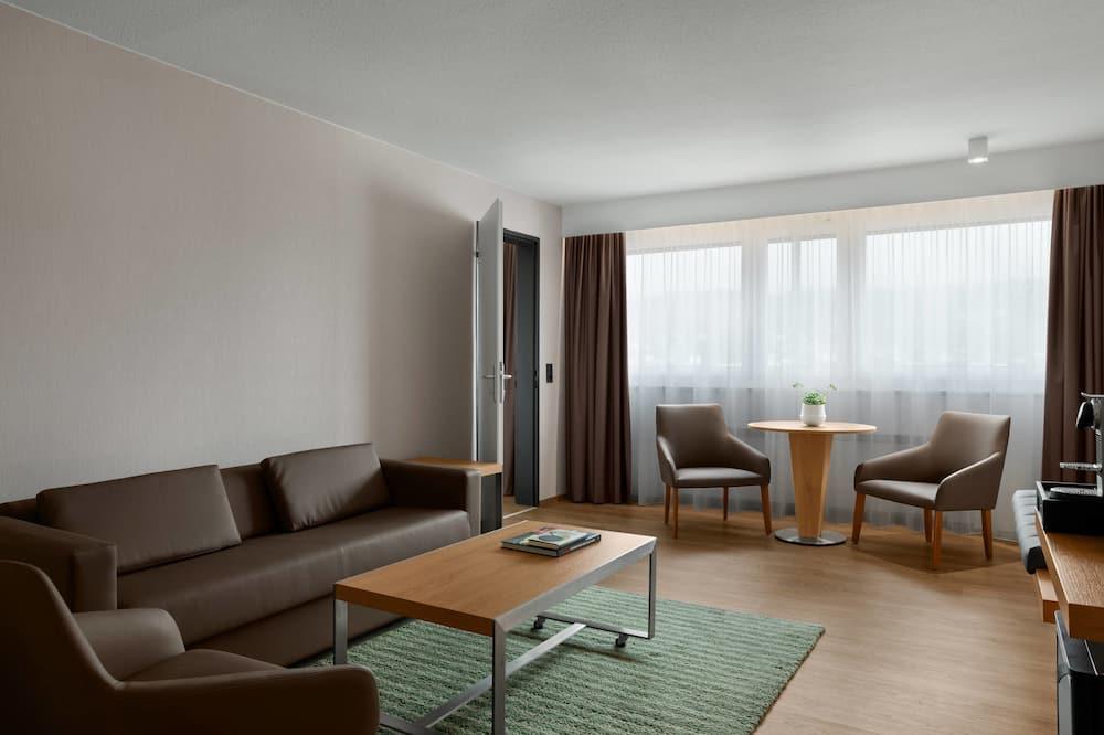 Suite, 1 chambre, non-fumeurs, vue montagne - Chambre