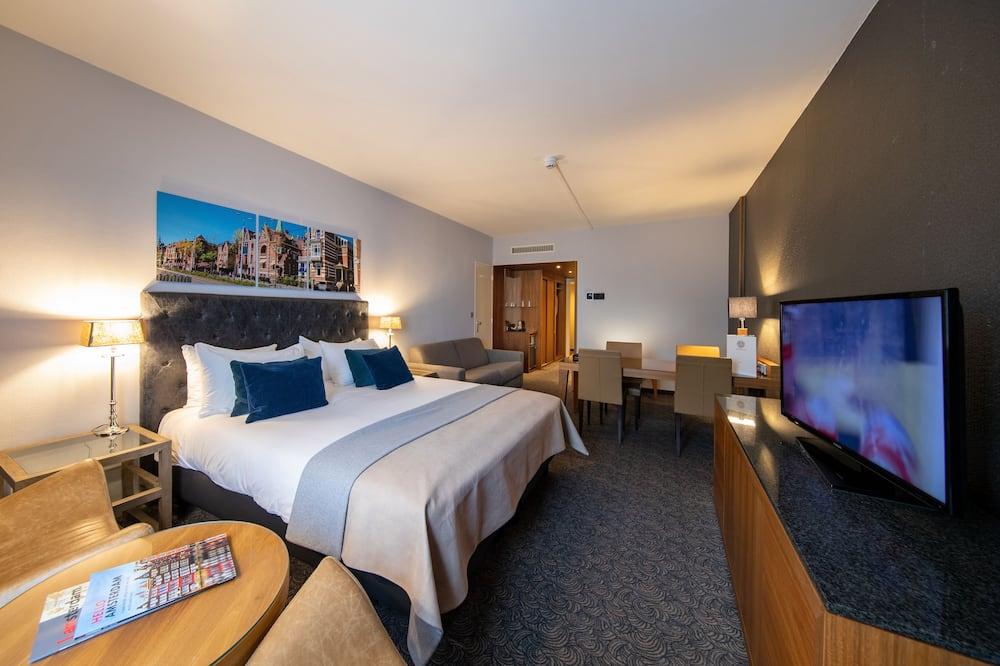 Luksusa numurs, 1 divguļamā gulta un dīvāngulta - Dzīvojamā zona