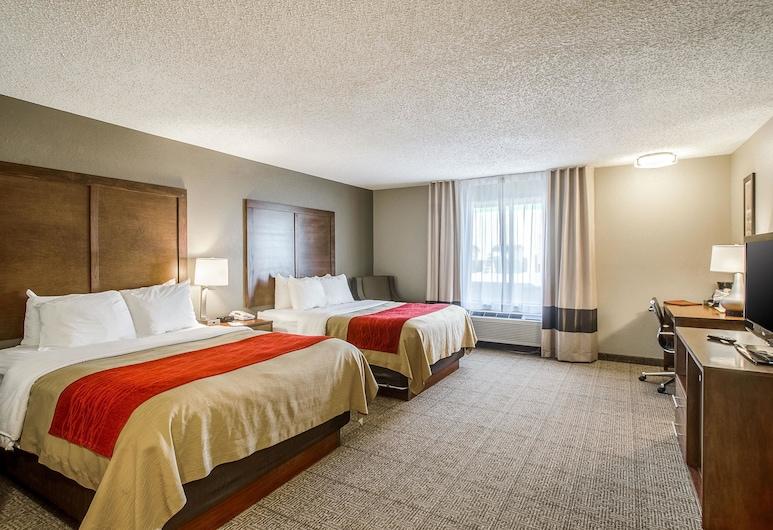 Comfort Inn Lexington, Lexington, Standaard kamer, 2 queensize bedden, niet-roken, Kamer