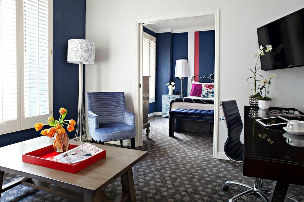 套房, 1 間臥室, 城市景觀 - 客廳