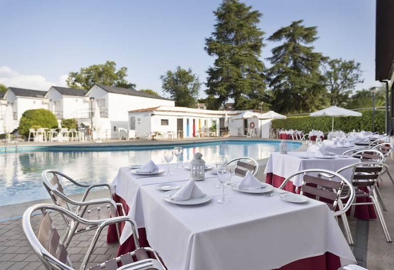 Best Osuna Feria Madrid, Madrid, Restauration en terrasse