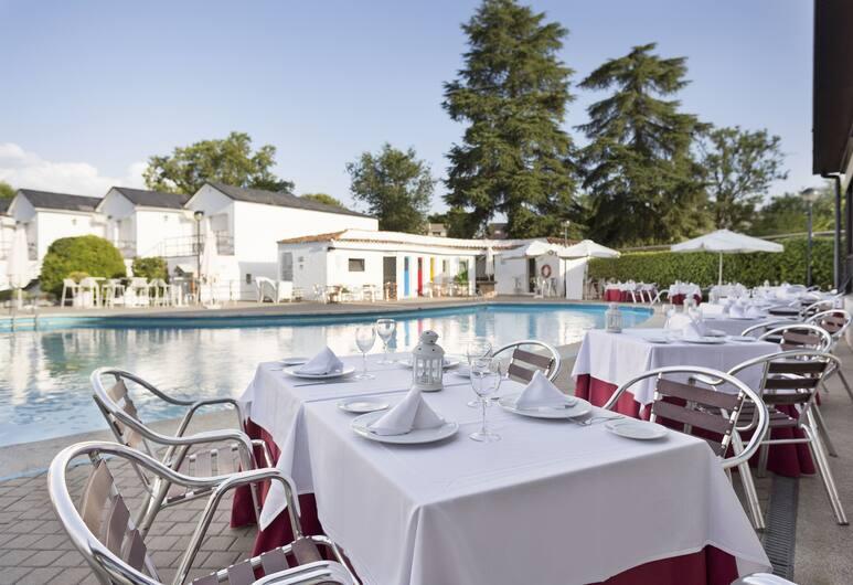 Best Osuna Feria Madrid, Madryt, Obiekty restauracyjne na zewnątrz