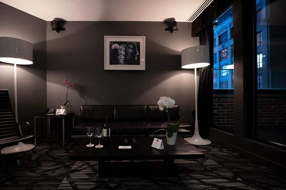 Penthouse, City View (Duplex) - Living Area